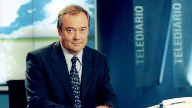 José Antonio Maldonado, presentador del Tiempo.