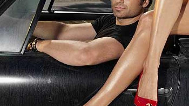 David Duchovny, en una imagen promocional de 'Californication'.