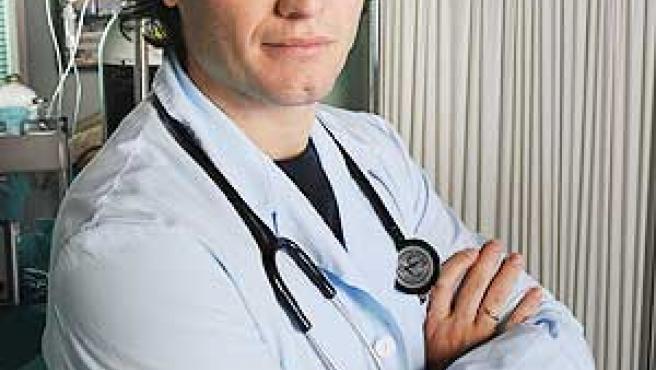El doctor Javier Sotomayor, en 'Hospital Central'.