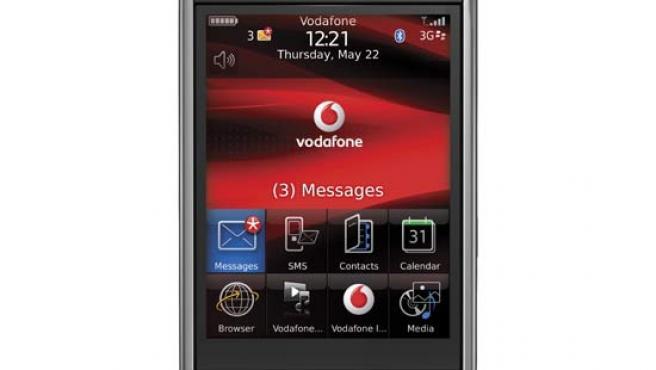 El móvil con pantalla plana de Blackberry