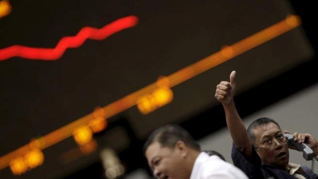Las Bolsas asiáticas también han subido (EFE).