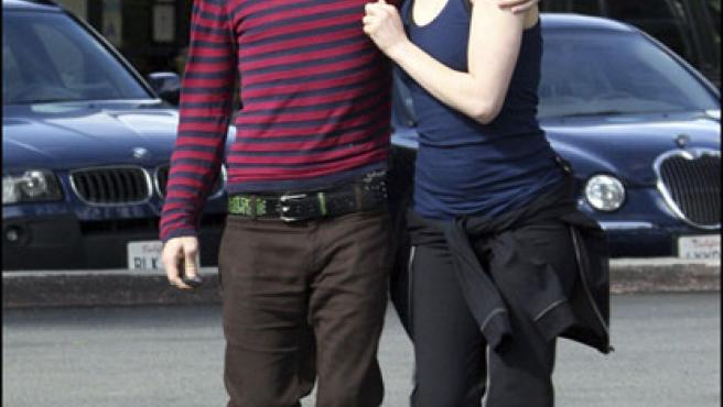 Avril Lavigne y Deryck Whibley, cuando todavía eran una feliz pareja (KORPA).
