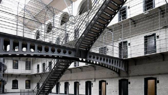 Interior de una cárcel, en una foto de archivo.