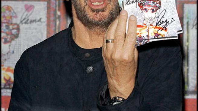 Ringo Starr cuando todavía firmaba autógrafos (KORPA).