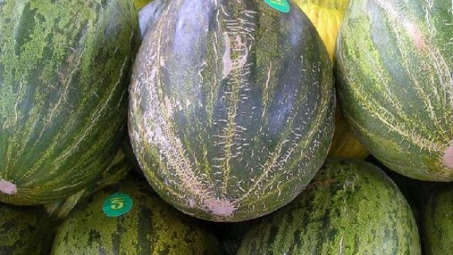 Imagen de melones en un mercado. (FLICKR)