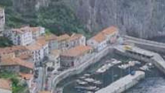 Elantxobe, localidad costera vizcaína.