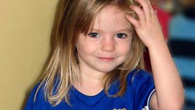 Imagen de archivo de la pequeña Madeleine McCann. (AGENCIAS)
