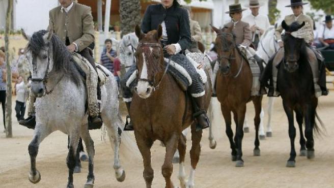 Un grupo de caballos. (ARCHIVO)