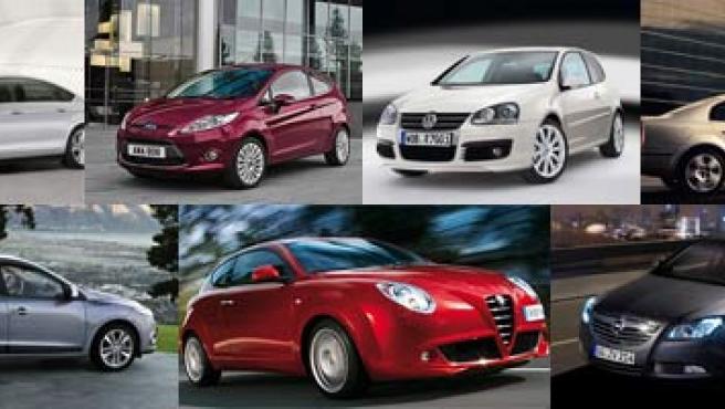 Los siete modelos europeos que han llegado a la final.