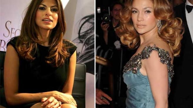 Eva Mendes y Jennifer López, ¿parecidas? (KORPA).
