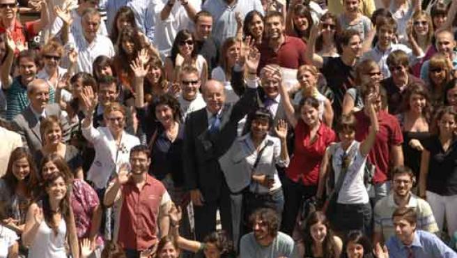 Alumnos Erasmus de las universidades madrileñas