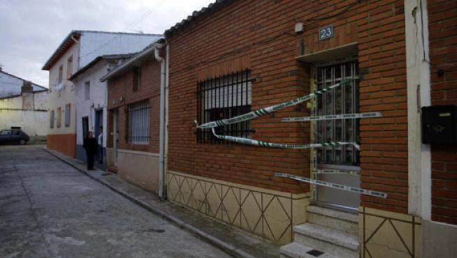 Domicilio en Alaejos donde vivía la familia.