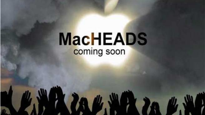 Cartel de 'MacHEADS'.