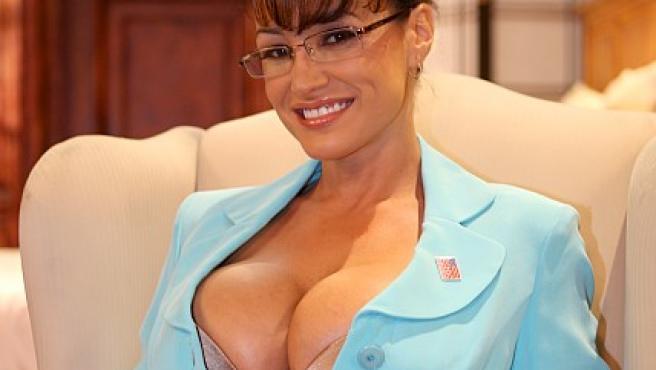 Sarah Paylin, versión porno de Palin (FOTO: EGOTASTIC)