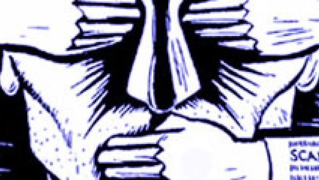 Ilustración sobre la censura.