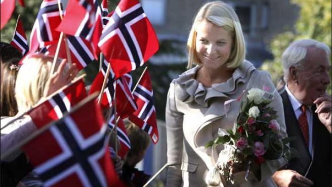Mette-Marit, en una foto de archivo tomada en septiembre (KORPA).