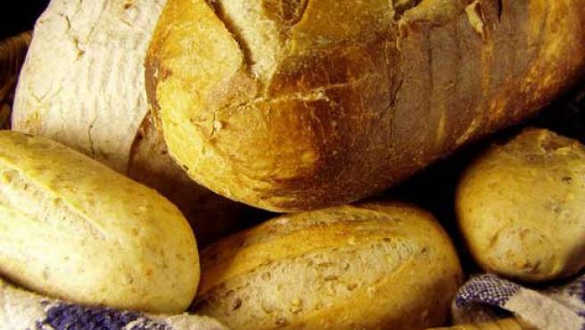 El pan forma parte de la dieta mediterránea.