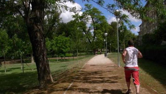 El Parque del Tío Jorge de Zaragoza es uno de los que más reformas ha acometido en el último año.