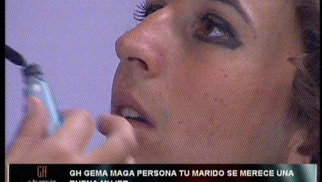 Javier Palomares juega a convertirse en Gisela. Visto en GH 24h