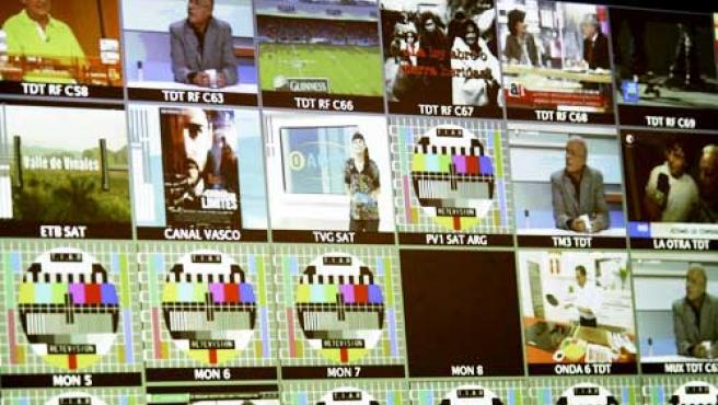 A un paso de una nueva televisión.
