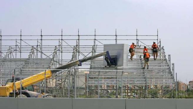 En la construcción siempre hay mucha temporalidad.