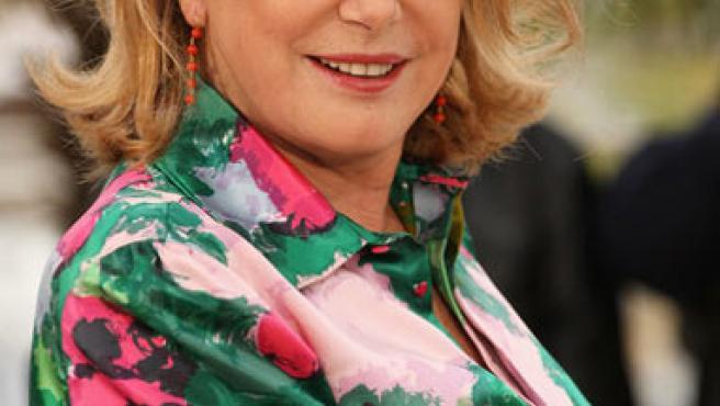 Catherine Deneuve durante el pasado Festival de Cannes.