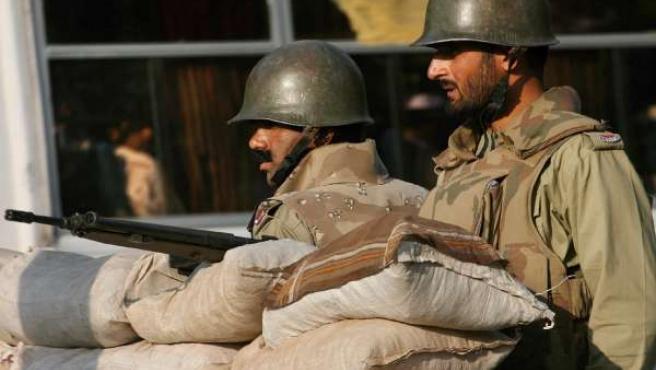 Soldados paquistaníes en una foto de archivo.