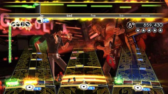 Imagen del juego 'Rock Band 2'.