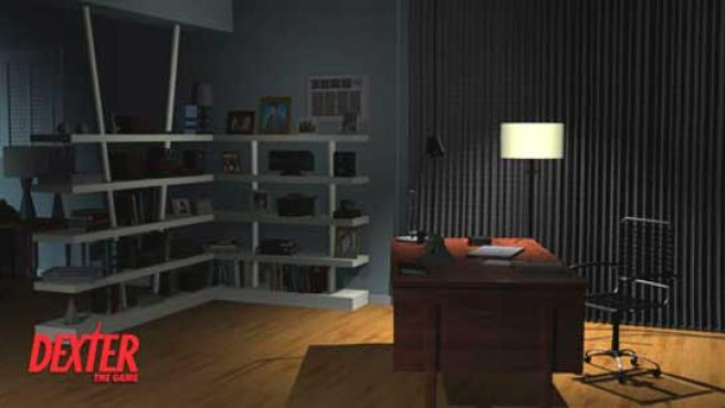 Primera pantalla del juego de Dexter para el iPhone.