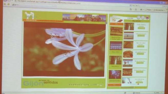 Una de las imágenes de la nueva tele.