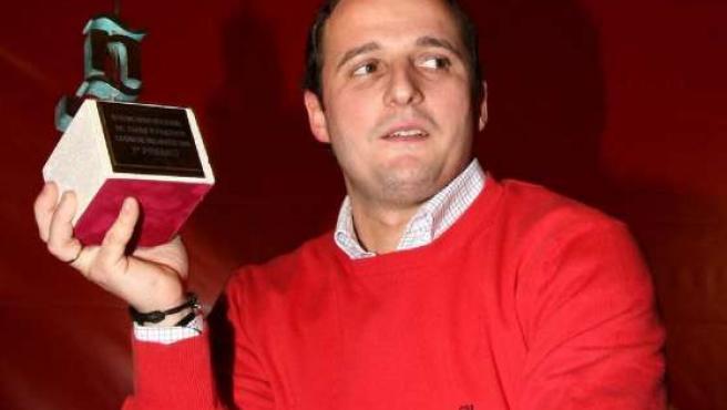 El ganador del Concurso Nacional de Pinchos, Carlos Valentí.