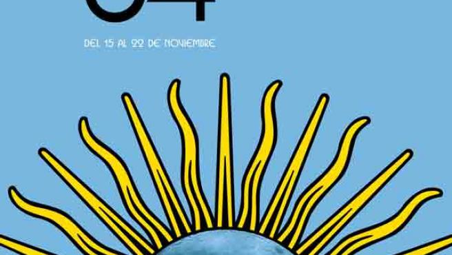 El sol argentino es el motivo principal de la obra.