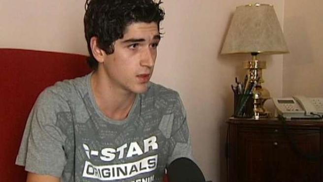 Marc Martínez, en una imagen facilitada por la televisión autonómica de Cataluña. TV3 .