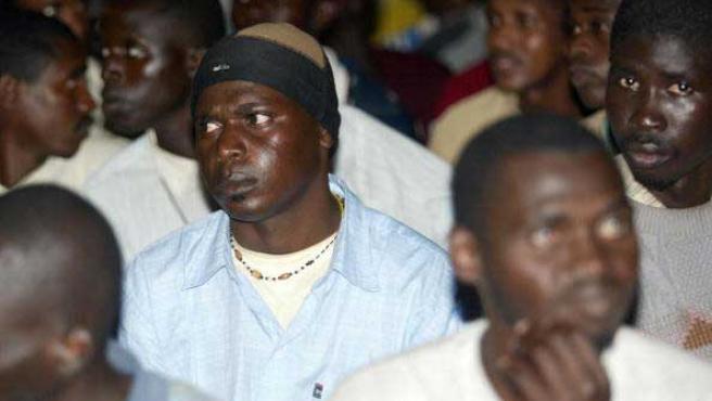 Los senegaleses fueron contratados en origen por 1.000 euros.