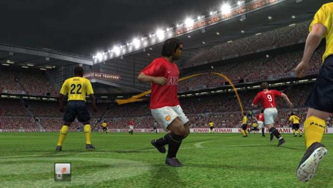 'Pro Evolution Soccer 2009' para Wii.
