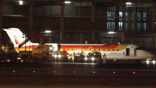 Avión de Air Nostrum. (ARCHIVO)