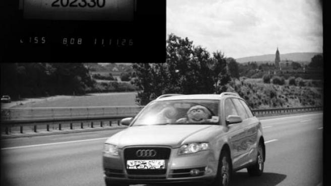 Las cámaras han pillado varias veces al conductor (POLIZEI BAYERN).