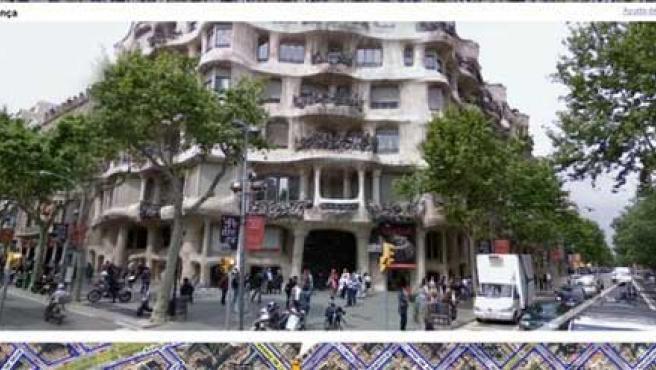 Barcelona es una de las ciudades que disponen de 'Street View'.