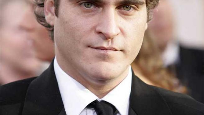 El actor Joaquin Phoenix.