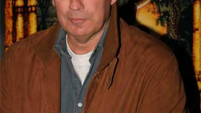 """Bertín Osborne, en el acto de lanzamiento del DVD de la película """"Indiana Jones y el reino de la calavera de cristal"""" (Foto: INÉS RUBIO)."""