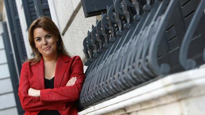 Soraya Saenz de Santamaría, portavoz del grupo popular en el Congreso. (Foto: Jorge París)