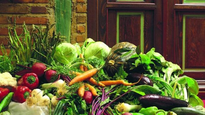 Verduras y frutas, base de la dieta mediterránea.