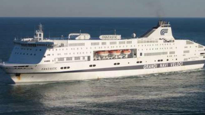 Barco Fantastic de la naviera Grandi Navi Veloci.