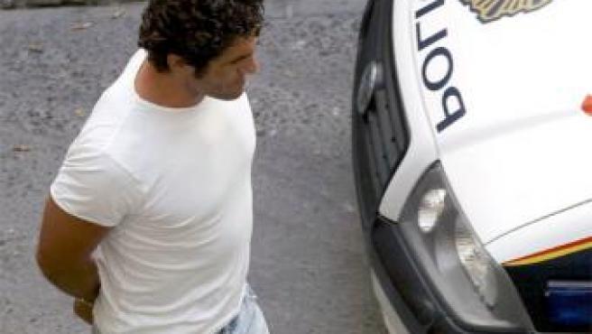 Antonio Puerta en el momento de su detención el pasado mes de agosto. 20MINUTOS/ARCHIVO.