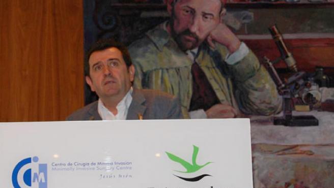 El director de 20 minutos ha participado en el Congreso de Cáceres.