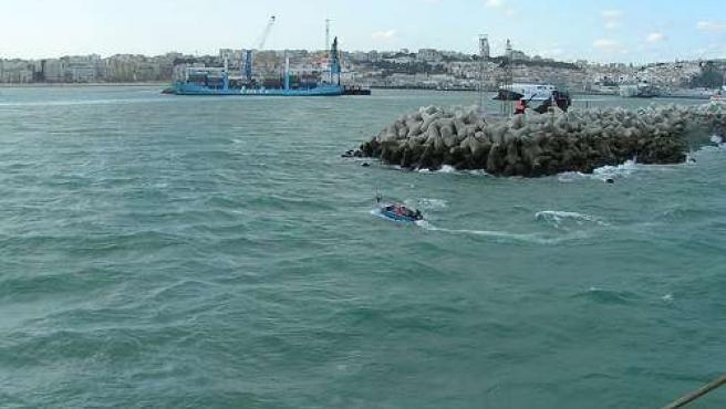 Imagen del Puerto de Tánger. (FLYCKR ).
