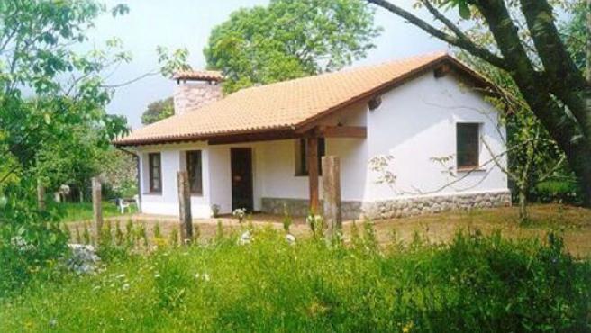 Imagen de una casa rural.