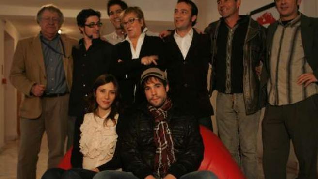 El equipo al completo de la película visita Valladolid.
