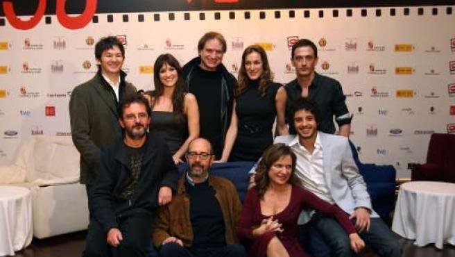 Los actores protagonistas y el director estuvieron en el festival.