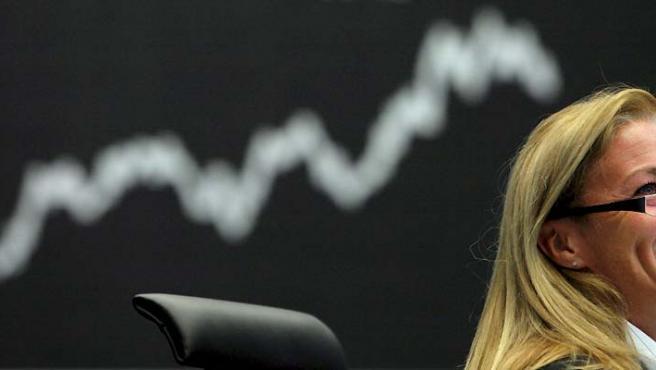 La Bolsa ha vivido numerosos altibajos a lo largo del mes de octubre. (Boris Roessler / EFE).